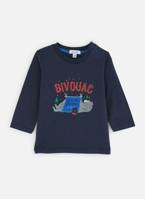 """Vêtements Absorba T-Shirt Ours """"Bivouac"""" - Jersey Bleu vue détail/paire"""