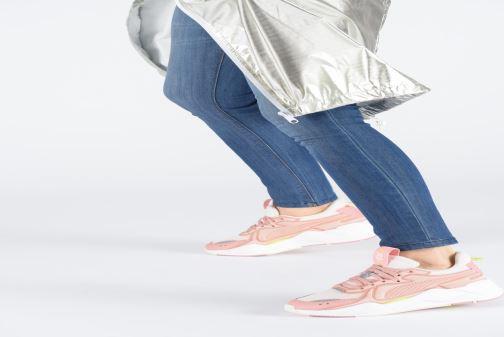 Baskets Puma Rs-X Soft Case Rose vue bas / vue portée sac
