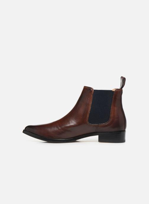 Boots en enkellaarsjes Melvin & Hamilton MARLIN 4 Bruin voorkant