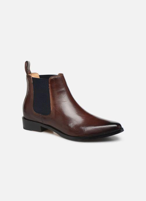 Boots en enkellaarsjes Melvin & Hamilton MARLIN 4 Bruin detail