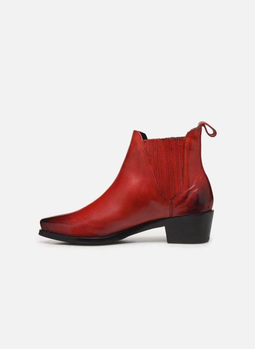 Bottines et boots Melvin & Hamilton KYLIE 1 Rouge vue face