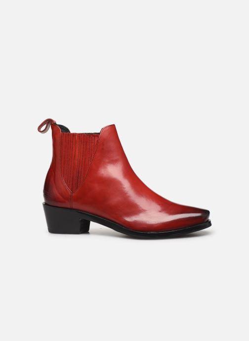 Bottines et boots Melvin & Hamilton KYLIE 1 Rouge vue derrière