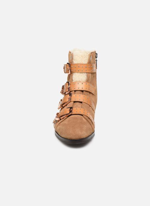 Boots en enkellaarsjes Melvin & Hamilton SUZAN 44 Bruin model