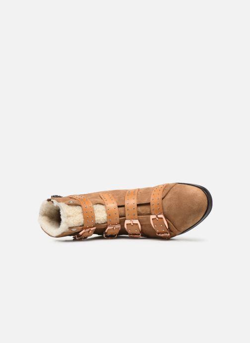 Boots en enkellaarsjes Melvin & Hamilton SUZAN 44 Bruin links