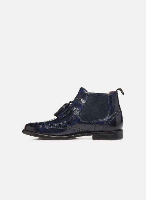 Boots en enkellaarsjes Melvin & Hamilton SELINA 5 Blauw voorkant