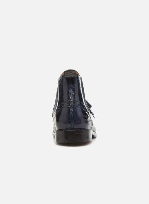 Boots en enkellaarsjes Melvin & Hamilton SELINA 5 Blauw rechts
