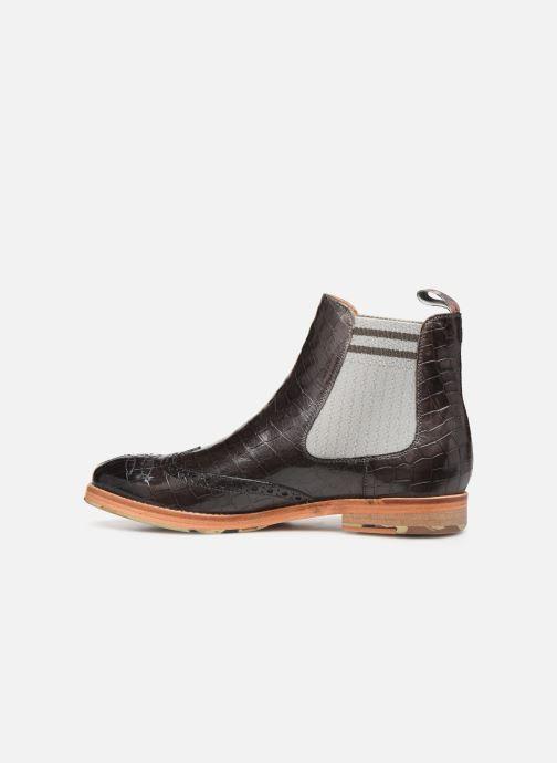 Boots en enkellaarsjes Melvin & Hamilton AMELIE 77 Zwart voorkant