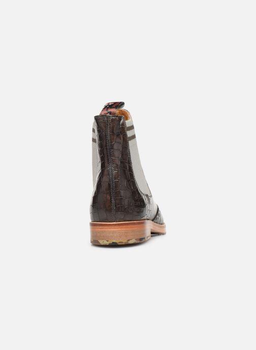Boots en enkellaarsjes Melvin & Hamilton AMELIE 77 Zwart rechts