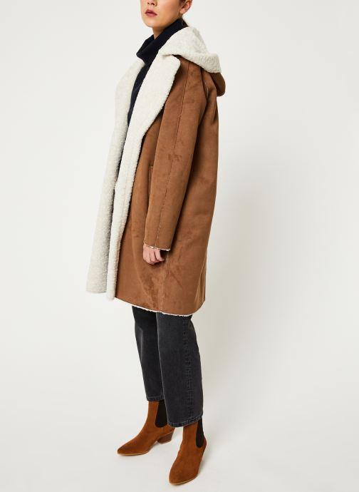 Vêtements Oakwood LEONIE Marron vue bas / vue portée sac