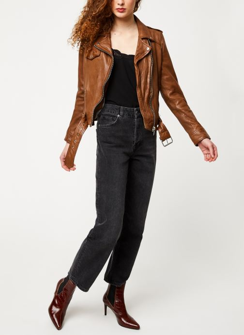 Vêtements Oakwood PLEASURE Marron vue bas / vue portée sac