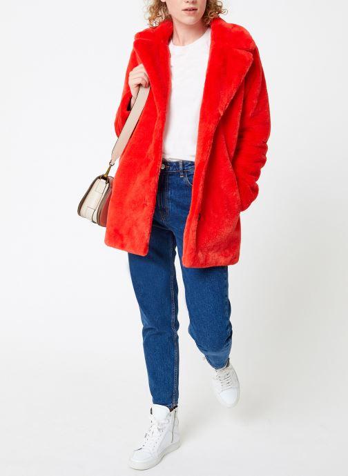 Vêtements Oakwood USER Rouge vue bas / vue portée sac