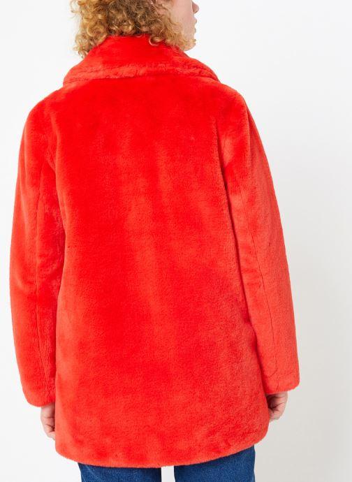 Vêtements Oakwood USER Rouge vue portées chaussures