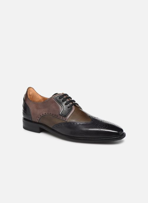Lace-up shoes Melvin & Hamilton DAVE 2 Brown detailed view/ Pair view