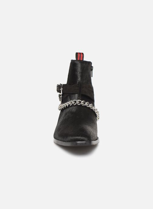 Bottines et boots Melvin & Hamilton ELWIS 45 Noir vue portées chaussures