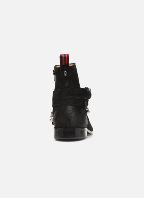 Bottines et boots Melvin & Hamilton ELWIS 45 Noir vue droite