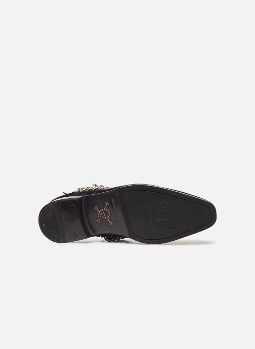 Bottines et boots Melvin & Hamilton ELWIS 45 Noir vue haut