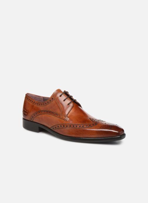 Snøresko Melvin & Hamilton LANCE 2 Brun detaljeret billede af skoene