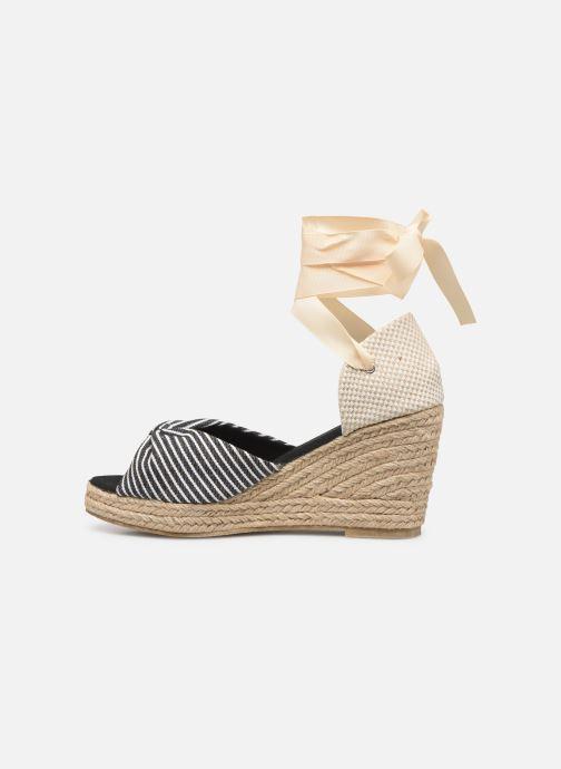 Espadrilles Vero Moda Vmnicole Wedge Sandal Noir vue face