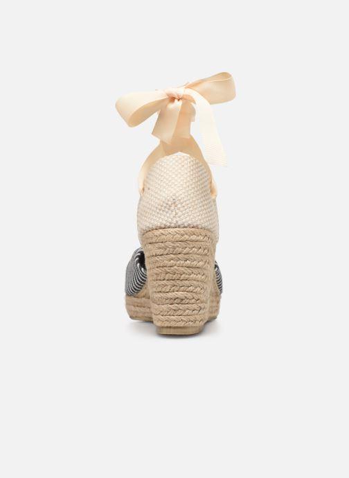 Scarpe di corda Vero Moda Vmnicole Wedge Sandal Nero immagine destra