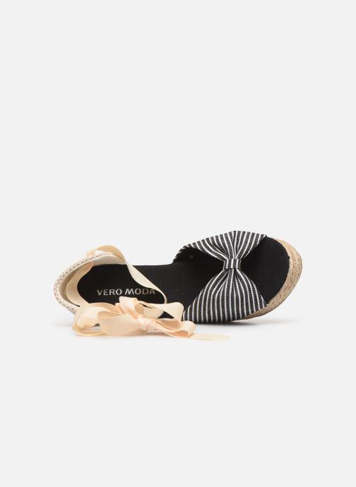 Scarpe di corda Vero Moda Vmnicole Wedge Sandal Nero immagine sinistra