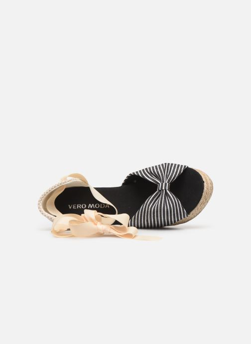 Espadrilles Vero Moda Vmnicole Wedge Sandal Black view from the left