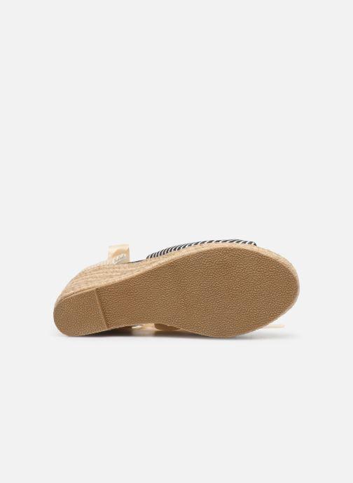 Scarpe di corda Vero Moda Vmnicole Wedge Sandal Nero immagine dall'alto