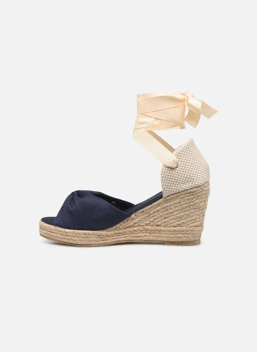 Espadrilles Vero Moda Vmnicole Wedge Sandal blau ansicht von vorne