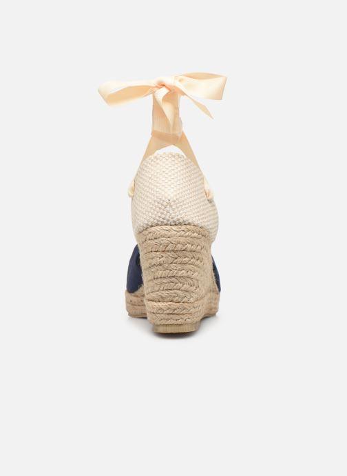 Alpargatas Vero Moda Vmnicole Wedge Sandal Azul vista lateral derecha