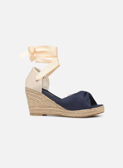 Alpargatas Vero Moda Vmnicole Wedge Sandal Azul vistra trasera