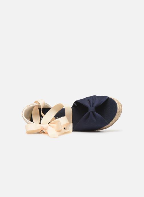 Alpargatas Vero Moda Vmnicole Wedge Sandal Azul vista lateral izquierda