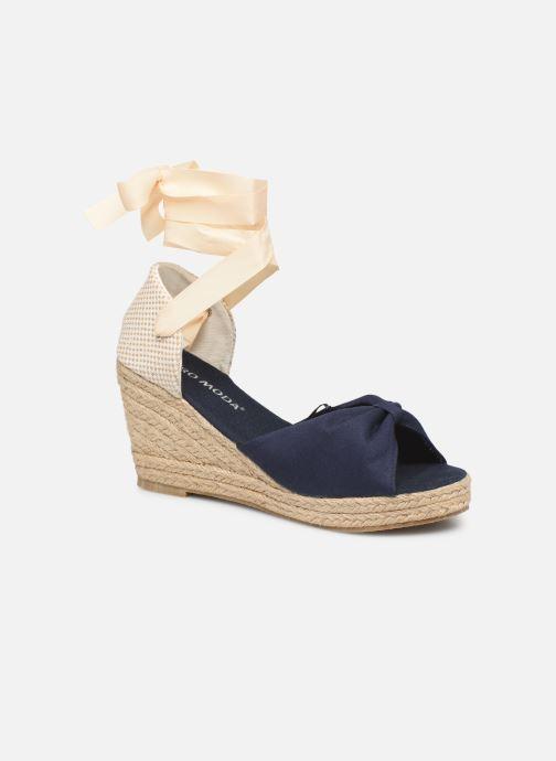 Espadrilles Vero Moda Vmnicole Wedge Sandal Bleu vue détail/paire