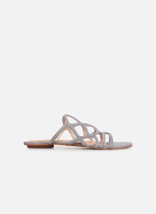 Zoccoli Vero Moda Vmalyssa Leather Sandal Grigio immagine posteriore