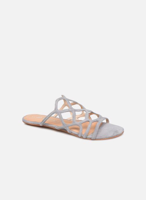 Mules et sabots Vero Moda Vmalyssa Leather Sandal Gris vue détail/paire