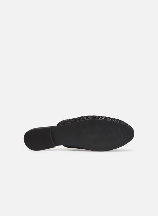 Mules & clogs Vero Moda Vmgaura Leather Mule Black view from above