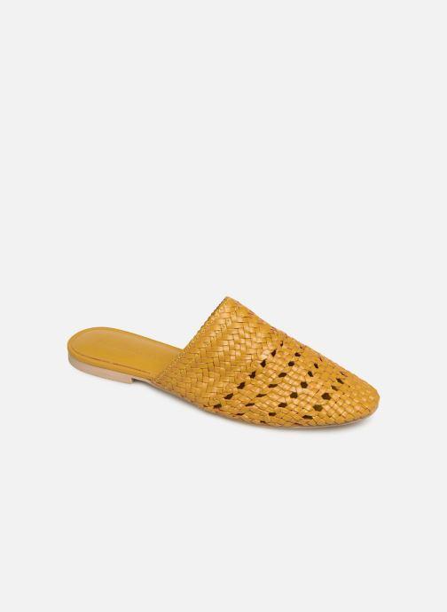 Zoccoli Vero Moda Vmgaura Leather Mule Giallo vedi dettaglio/paio