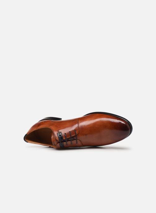 Zapatos con cordones Melvin & Hamilton CLINT 1 Marrón vista lateral izquierda