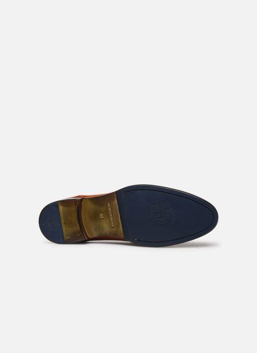 Zapatos con cordones Melvin & Hamilton CLINT 1 Marrón vista de arriba