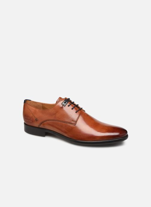 Lace-up shoes Melvin & Hamilton CLINT 1 Brown detailed view/ Pair view
