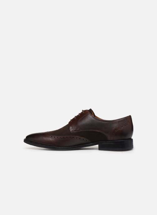 Lace-up shoes Melvin & Hamilton VICTOR 2 Brown front view