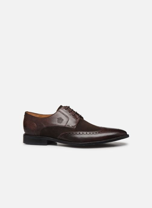 Lace-up shoes Melvin & Hamilton VICTOR 2 Brown back view