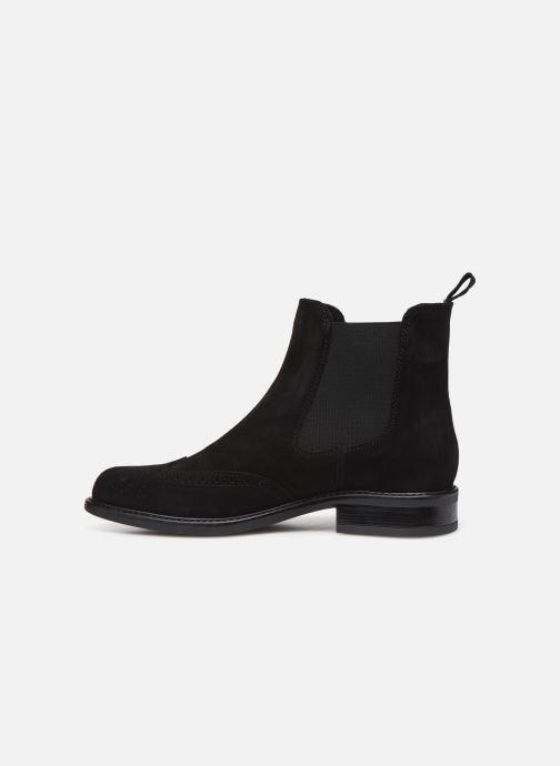Bottines et boots Georgia Rose Dantia Noir vue face
