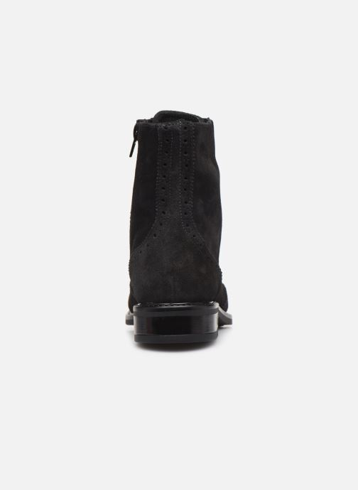 Ankle boots Georgia Rose Donna Black view from the right