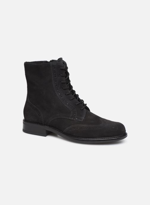 Ankle boots Georgia Rose Donna Black detailed view/ Pair view