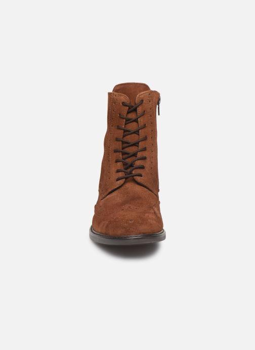 Bottines et boots Georgia Rose Donna Marron vue portées chaussures