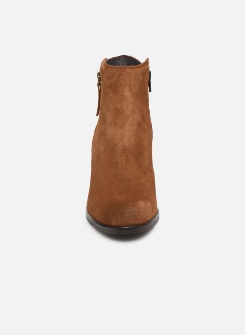 Bottines et boots Georgia Rose Diletta Marron vue portées chaussures