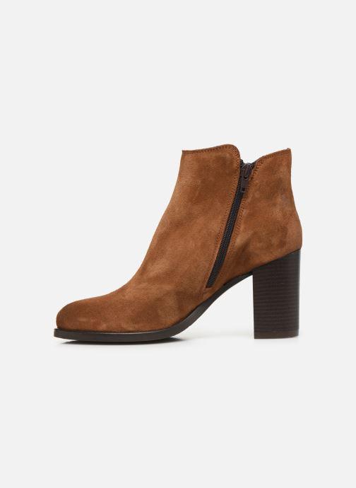 Bottines et boots Georgia Rose Diletta Marron vue face
