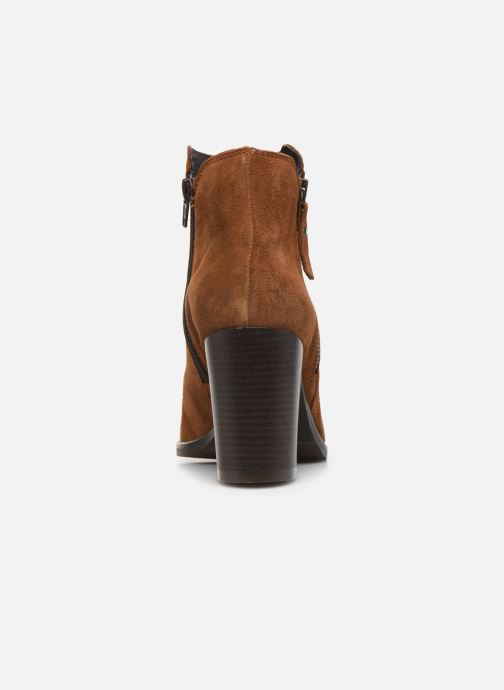 Bottines et boots Georgia Rose Diletta Marron vue droite