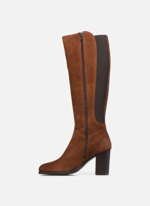 Støvler & gummistøvler Georgia Rose Dafiliat Brun se forfra
