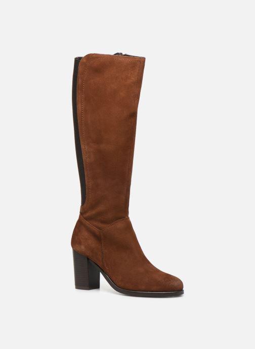 Boots & wellies Georgia Rose Dafiliat Brown detailed view/ Pair view