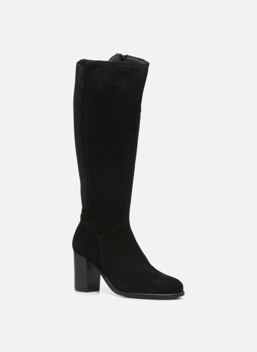 Boots & wellies Georgia Rose Dafiliat Black detailed view/ Pair view